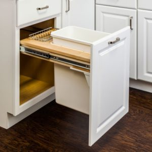 Single Top Mount Waste Pullout