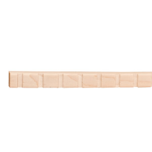 Dentil Moulding Featuring Rounded Teeth DEN5