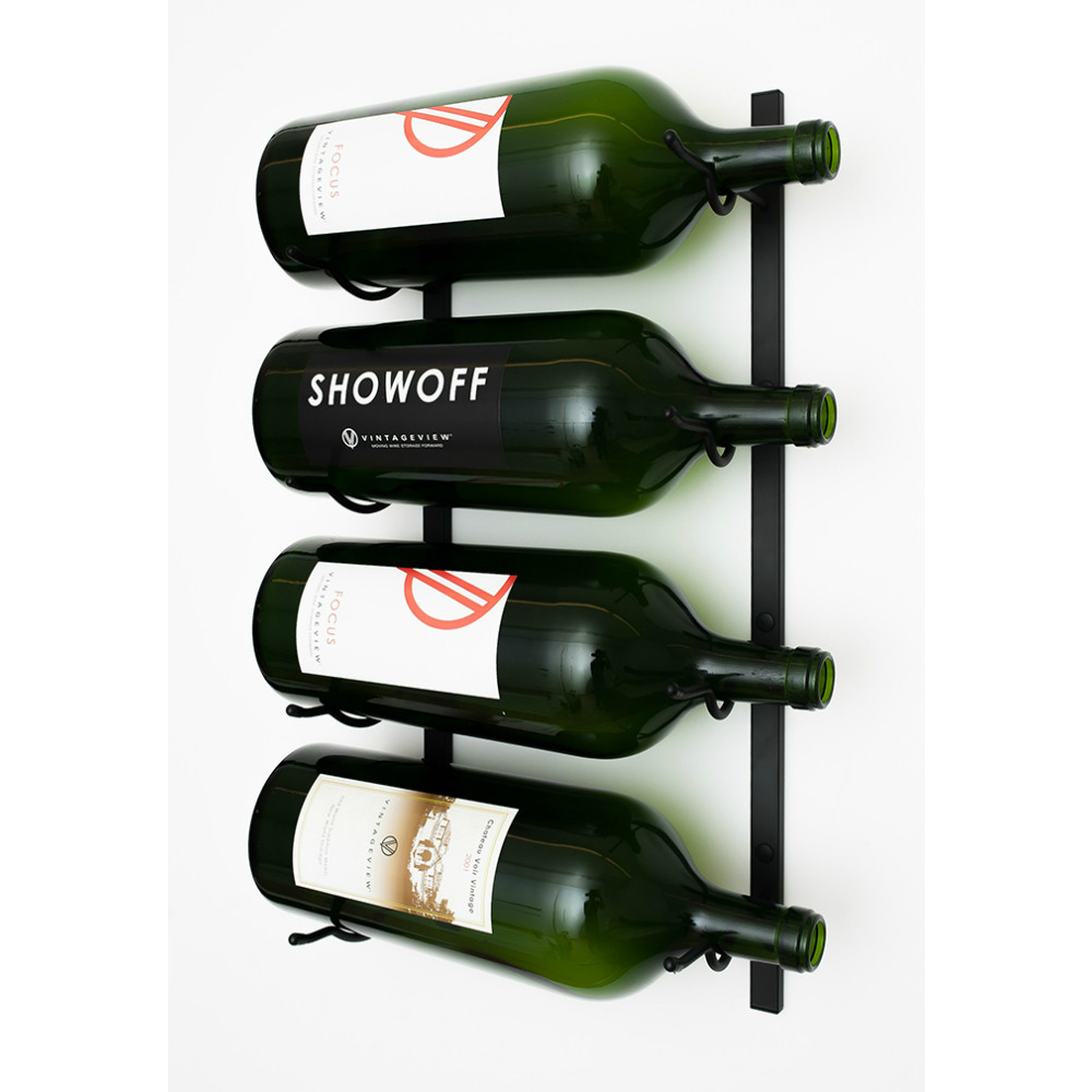 Big Bottle Wall Series 4 Bottle Wine Rack