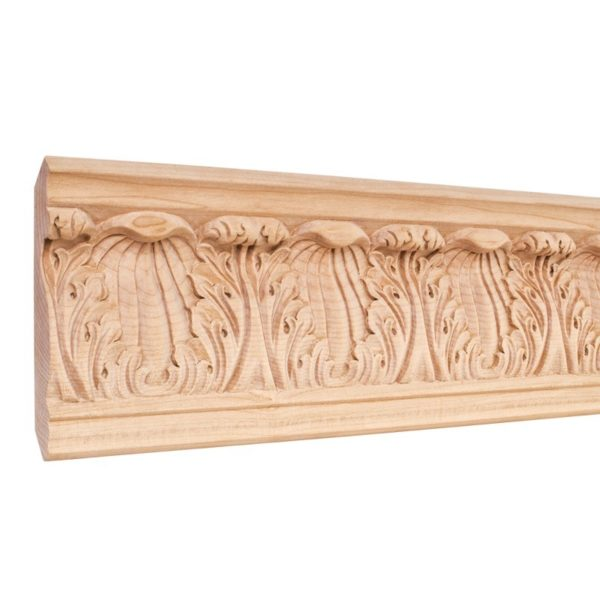 Acanthus Carved Crown Moulding