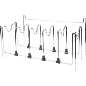 Pot & Pan Polished Chrome Wire Organizer