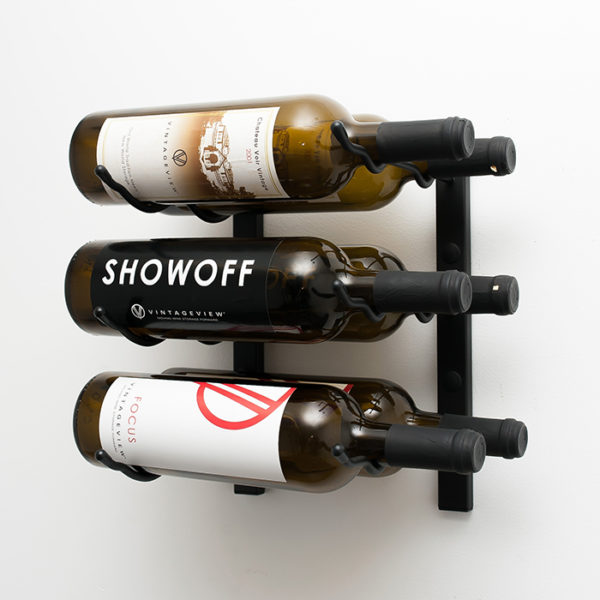 1 Foot Wall Series 6 Bottle Wine Rack