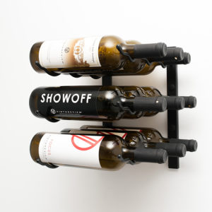 1 Foot Wall Series 9 Bottle Wine Rack