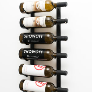 2 Foot Wall Series 6 Bottle Wine Rack