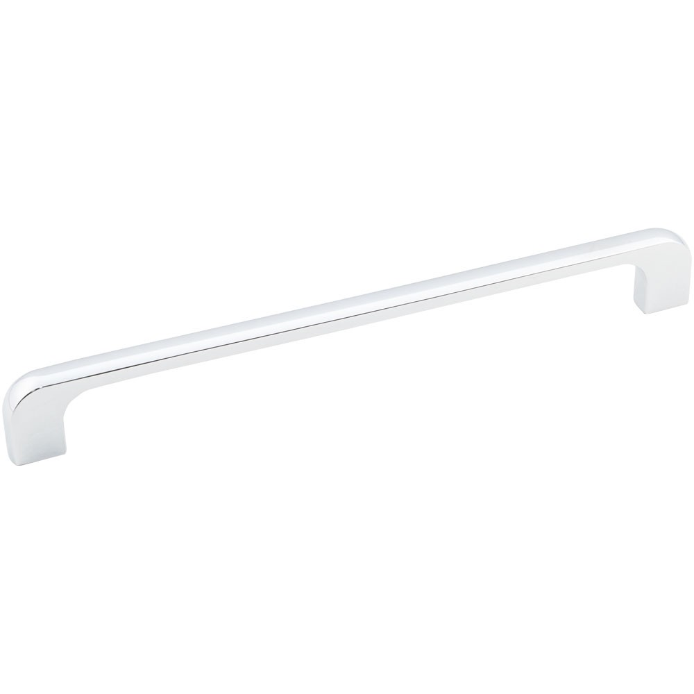 "Alvar 264-192 Cabinet Handle 8-1/4 inches overall length tab pull. Mounting Holes are 192mm (7-9/16 inches) center-to-center. Packaged with two 8-32 X 1"" screws."