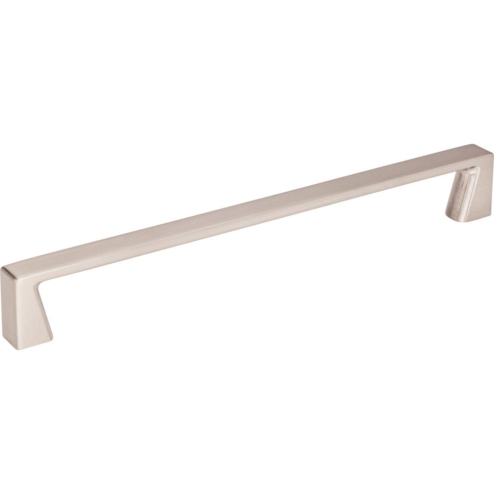 "Boswell 177-192 Cabinet Handle 8-1/16 inches overall length tab pull.  Mounting holes are 192mm (7-9/16 inches) center-to-center. Packaged with two 8-32 X 1"" screws."